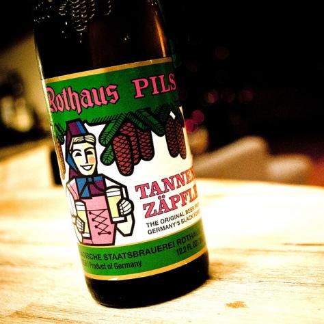 Обзор пива. Rothaus Pils Tannen Zäpfle.
