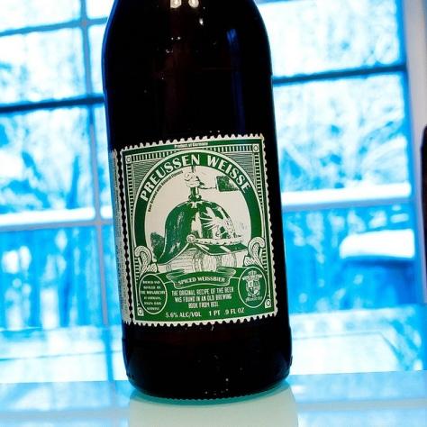 Обзор пива. Monarchy Preussen Weisse.