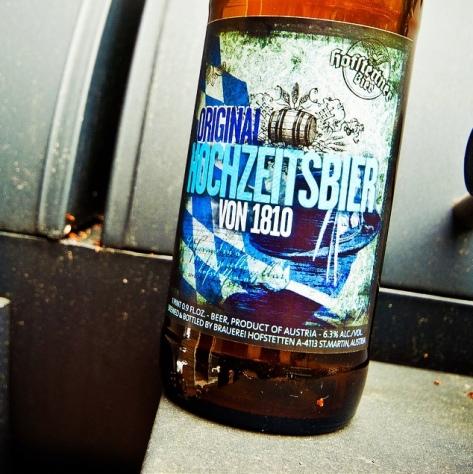 Обзор пива. Hofstetten Krammer Original Munchner Hochzeitsbier.