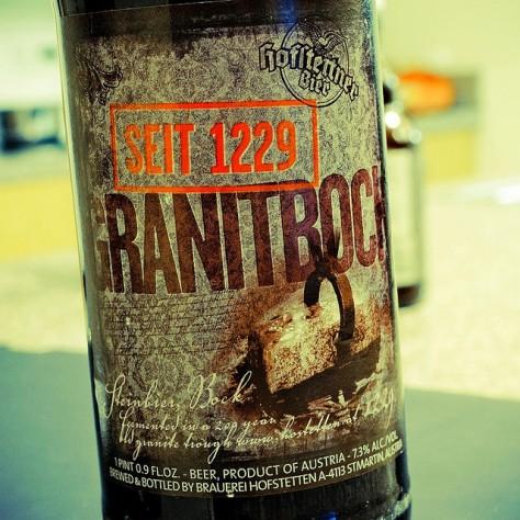 Обзор пива. Hofstetten Granitbock.