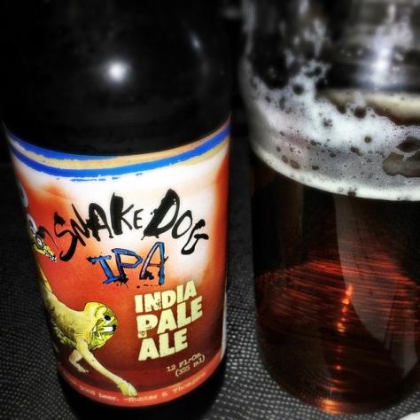 Обзор пива. Flying Dog Snake Dog.
