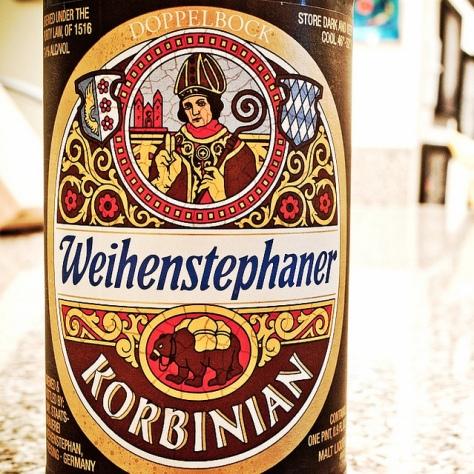 Обзор пива. Weihenstephaner Korbinian.