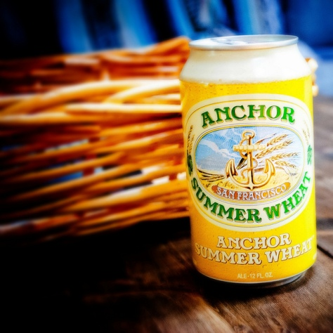 Бледный [светлый] пшеничный эль. Pale Wheat Ale. Anchor Summer Wheat. Обзор пива.