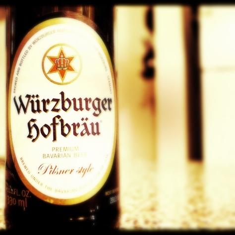 Обзор пива. Würzburger Hofbräu Pilsner.
