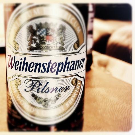 Обзор пива. Weihenstephaner Pilsner.