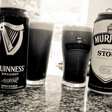 [Сравнение пива]. Guinness Draught vs Murphy's Irish Stout.
