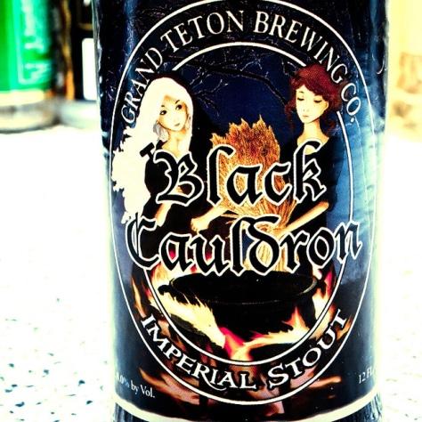 Обзор пива. Grand Teton Black Cauldron.