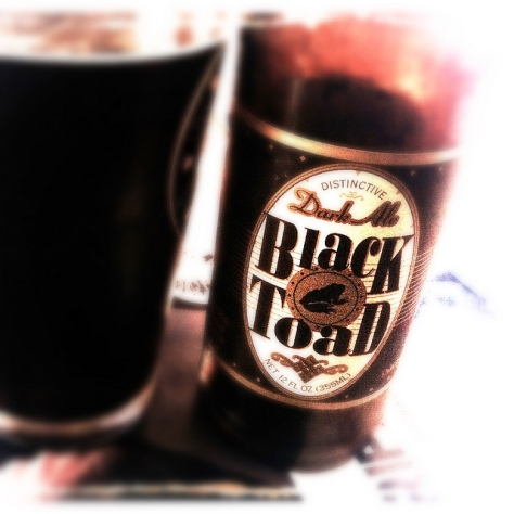 Обзор пива. Black Toad Dark Ale.