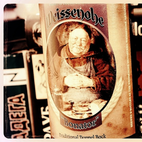 Обзор пива. Weissenohe Bonator.
