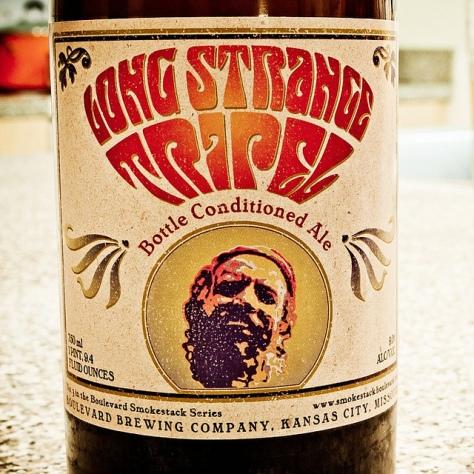 Обзор пива. Boulevard Long Strange Tripel.