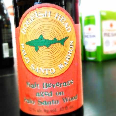 Обзор пива. Dogfish Head Palo Santo Marron.