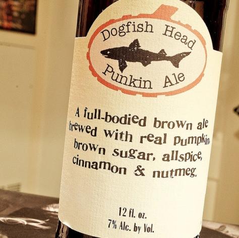 Обзор пива. Dogfish Head Punkin Ale.