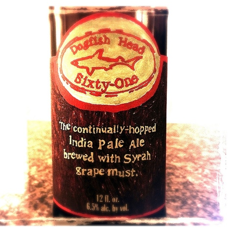 Обзор пива. Dogfish Head Sixty-One.