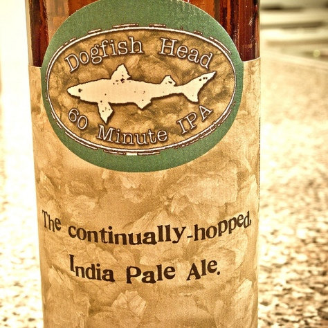 Обзор пива. Dogfish Head 60 Minute IPA.