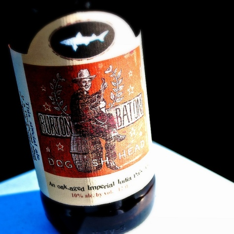 Обзор пива. Dogfish Head Burton Baton.