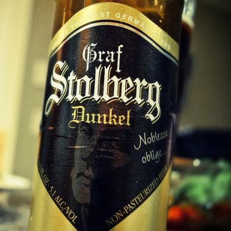 Обзор пива. Westheim Graf Stolberg Dunkel.