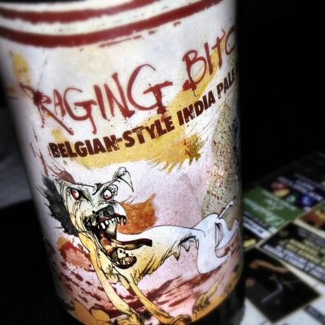 Обзор пива. Flying Dog Raging Bitch.
