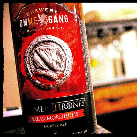Обзор пива. Ommegang Game of Thrones Valar Morghulis.