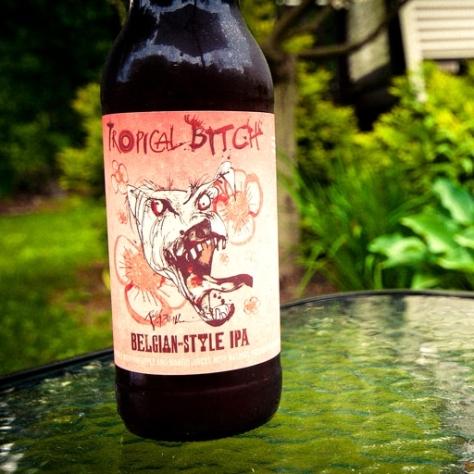 Обзор пива. Flying Dog Tropical Bitch.