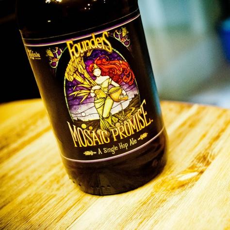 Хмель мозаик. Founders Mosaic Promise. Обзор пива.