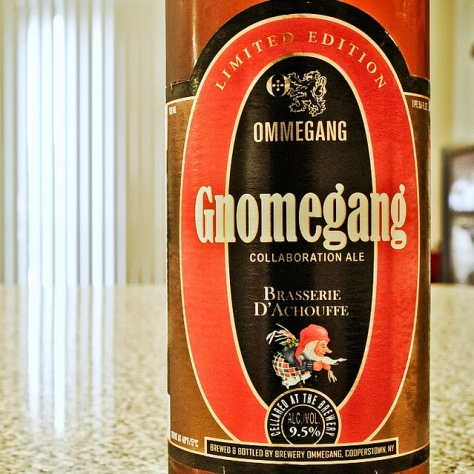 Обзор пива. Ommegang Gnomegang.