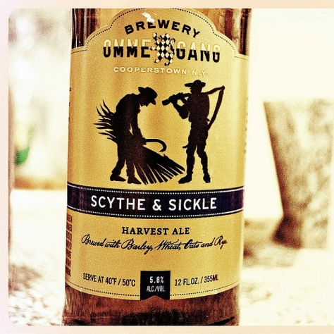Обзор пива. Ommegang Scythe & Sickle.