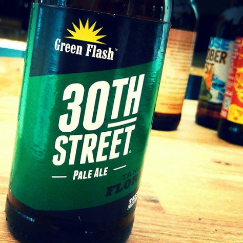 Обзор пива. Green Flash 30th Street.