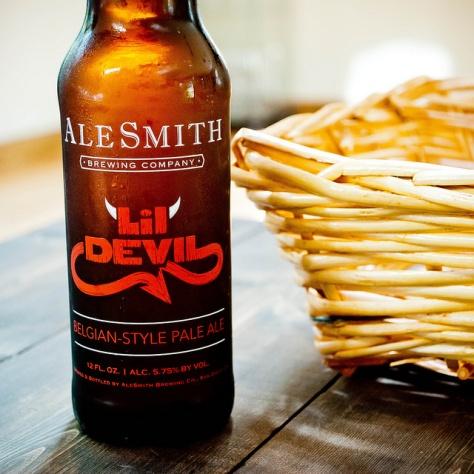 Обзор пива. AleSmith Lil' Devil.