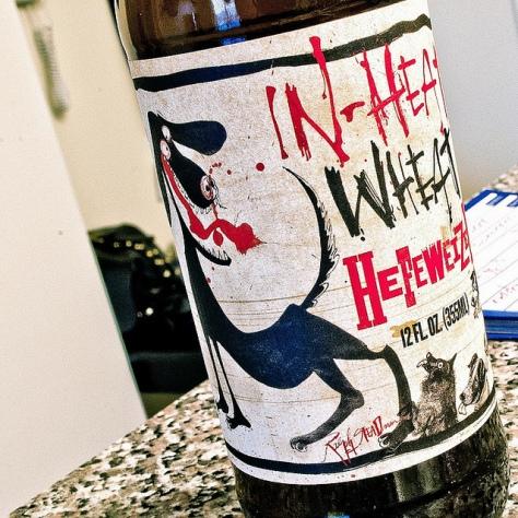 Обзор пива. Flying Dog In-Heat Wheat.