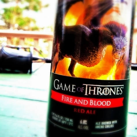 Обзор пива. Ommegang Game of Thrones Fire And Blood.