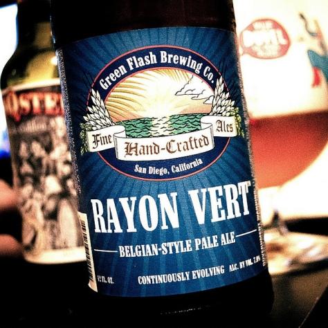 Обзор пива. Green Flash Rayon Vert.