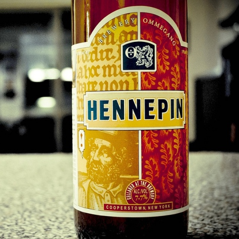 Обзор пива. Ommegang Hennepin.