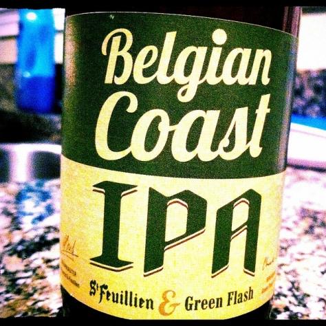 Обзор пива. Green Flash Belgian Coast IPA.