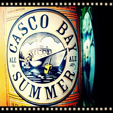 Обзор пива. Casco Bay Summer Ale.