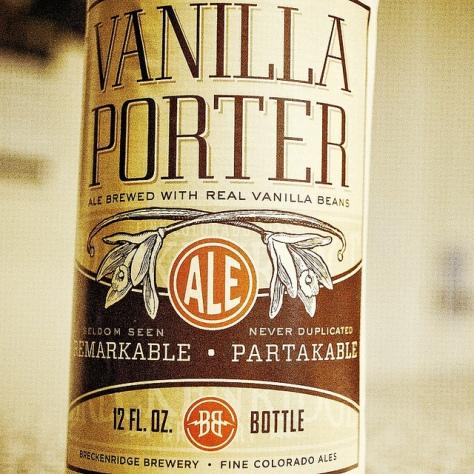 Обзор пива. Breckenridge Vanilla Porter.