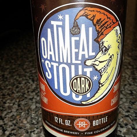 Обзор пива. Breckenridge Oatmeal Stout.