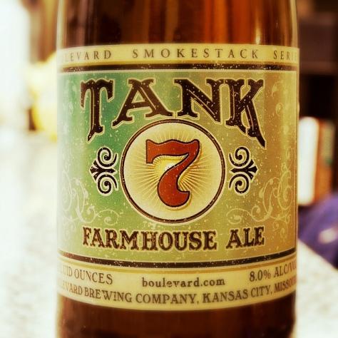 Обзор пива. Boulevard Tank 7 Farmhouse Ale.