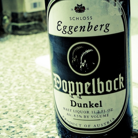 Обзор пива. Eggenberg Doppelbock Dunkel.