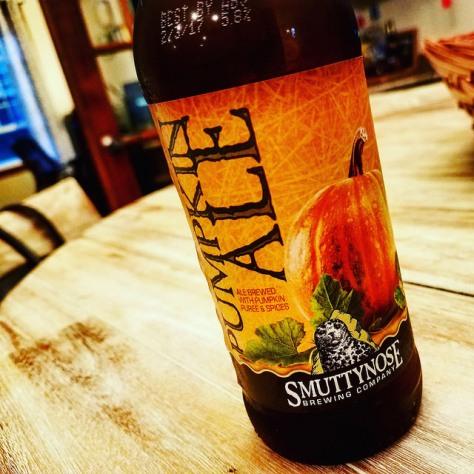 Обзор пива. Smuttynose Pumpkin Ale.
