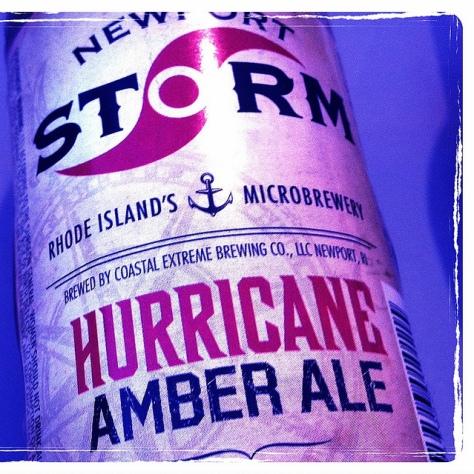Coastal Extreme Newport Storm Hurricane Amber Ale. [Обзор пива].
