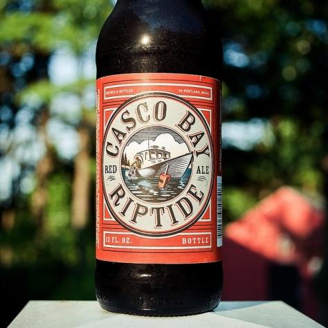 Обзор пива. Casco Bay Riptide.