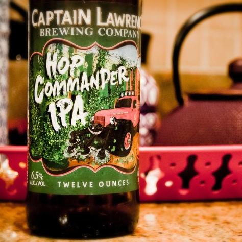 Обзор пива. Captain Lawrence Hop Commander.