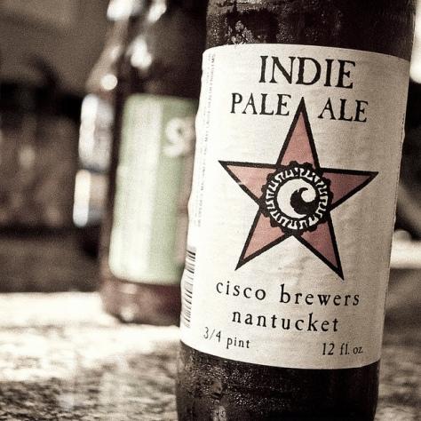 Обзор пива. Cisco Indie Pale Ale.