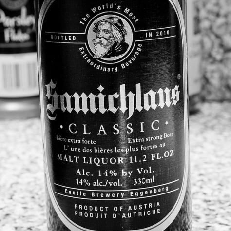 Обзор пива. Eggenberg Samichlaus Bier. 2010.