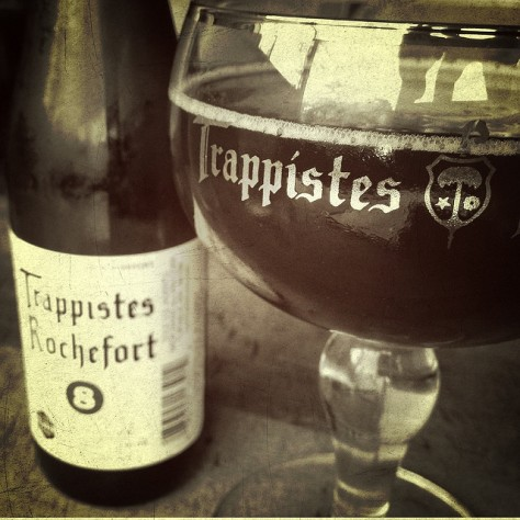 Мутное пиво. Rochefort 8. Обзор пива.