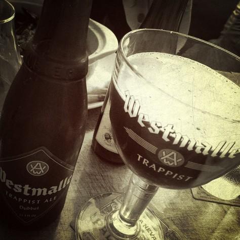 Траппистское пиво. Trappist beer.