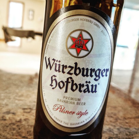 Würzburger Hofbräu Pilsner. [Обзор пива].