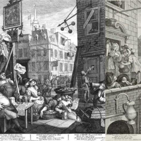 Что такое имперское пиво? Стаут. Пиво 18-19 веков. Beer Street and Gin Lane.