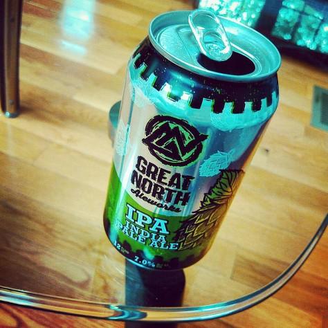 Обзор пива. Great North IPA.
