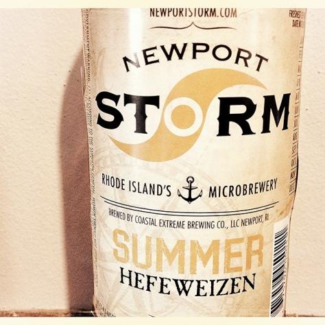 Coastal Extreme Newport Storm Summer Hefeweizen. [Обзор пива].